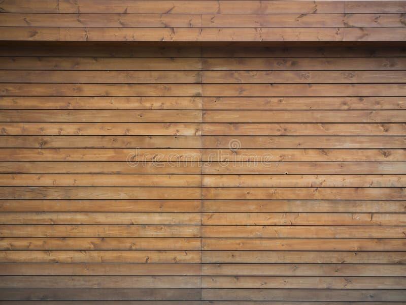 Fundo de madeira da prancha de Brown foto de stock