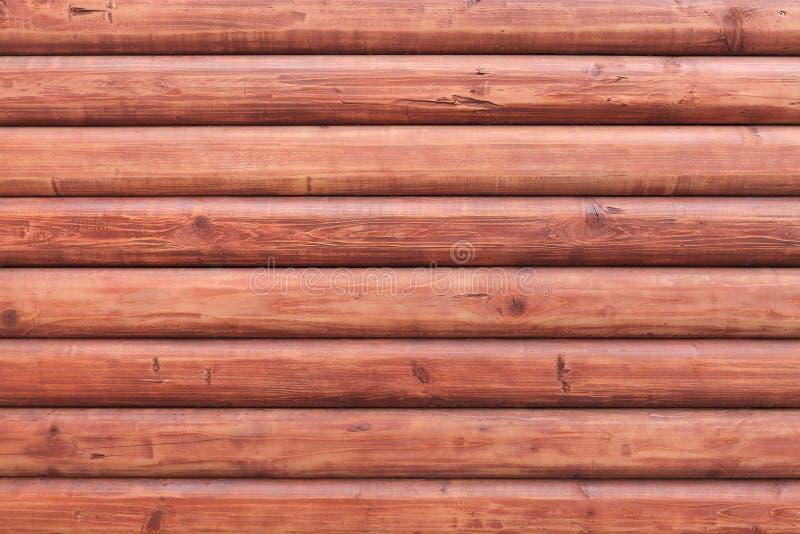 Fundo de madeira da textura da parede da prancha de Brown fotos de stock royalty free