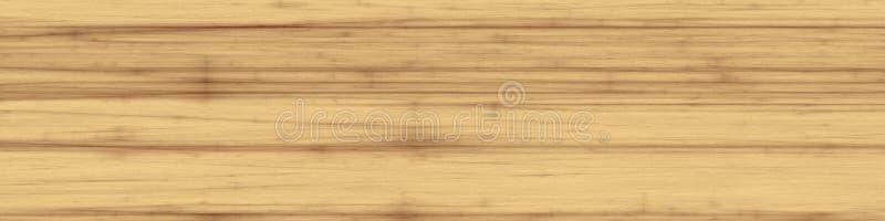 Fundo de madeira da textura do álamo claro ilustração stock