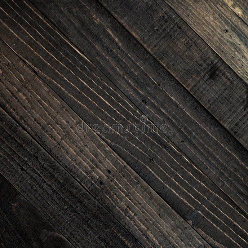 Fundo de madeira da textura do marrom escuro fotografia de stock