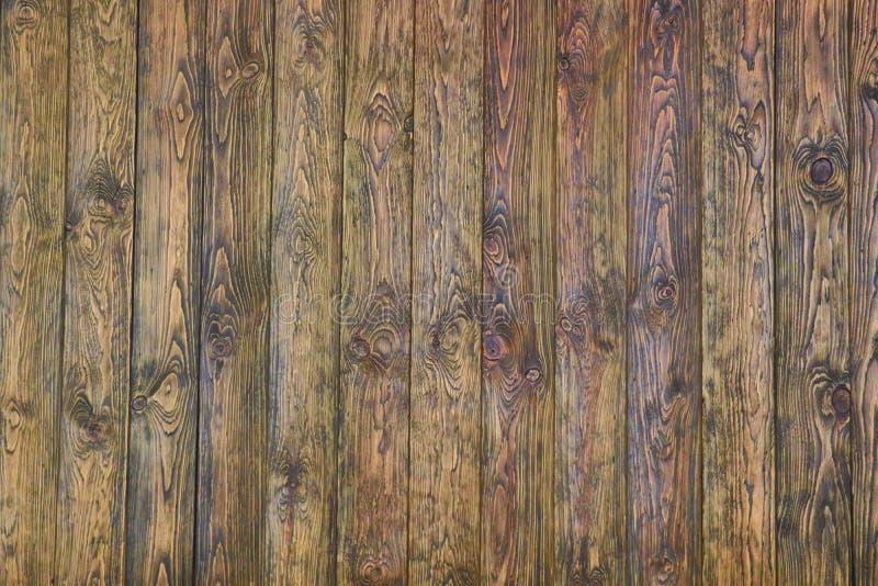 Fundo de madeira da textura do marrom da madeira de pinho fotografia de stock royalty free