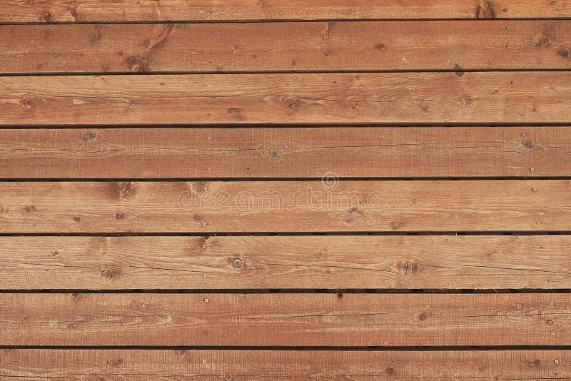 Fundo de madeira da textura do marrom da prancha imagens de stock royalty free