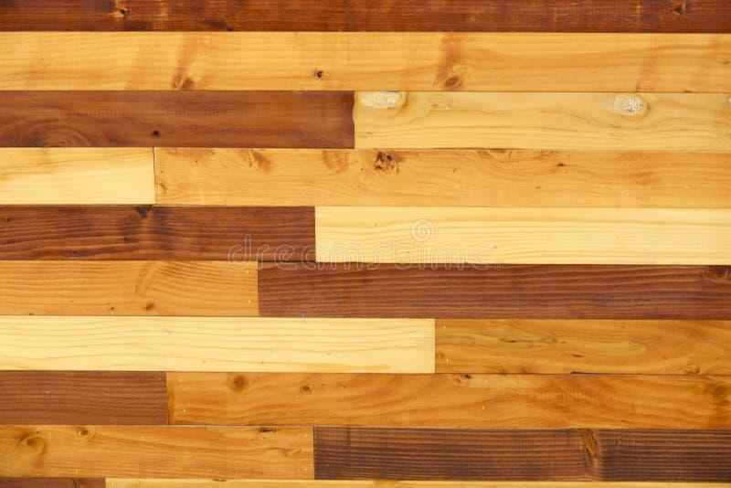 Fundo de madeira da textura da parede foto de stock