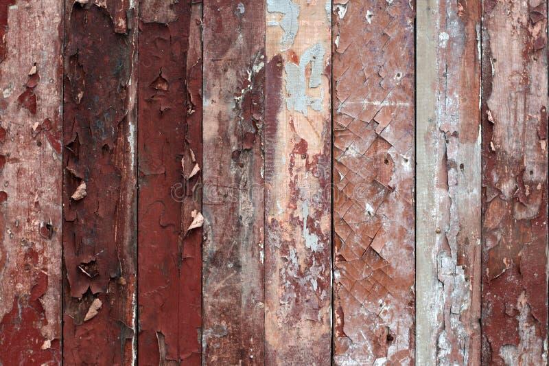 Fundo de madeira do grunge da parede foto de stock royalty free