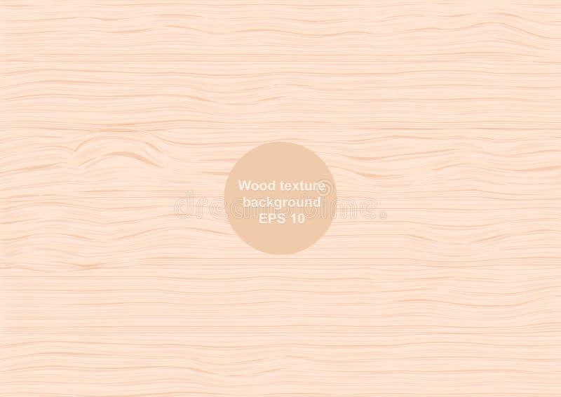 Fundo de madeira do projeto da textura da natureza e do molde da decoração ilustração royalty free