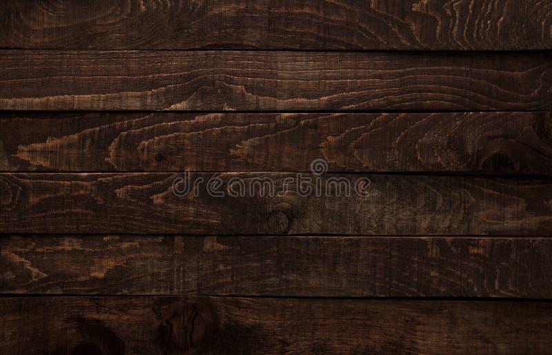 Fundo de madeira escuro foto de stock