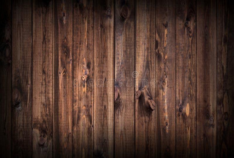 Fundo de madeira escuro das pranchas imagens de stock