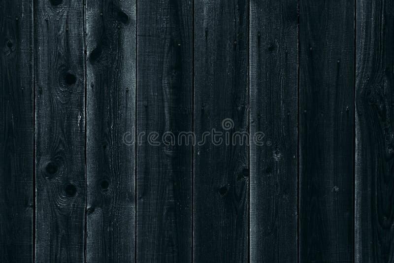 Fundo de madeira escuro Placas de madeira velhas Textura foto de stock royalty free