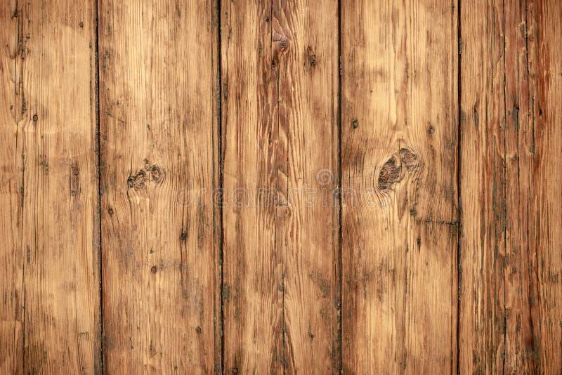 Fundo de madeira gasto da parede Textura de placas de madeira da carpintaria obsoleta, painel Assoalho de madeira sujo do vintage fotos de stock