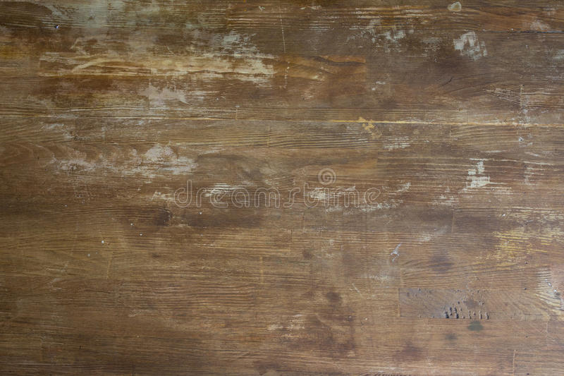 Fundo de madeira gasto velho do tabletop foto de stock
