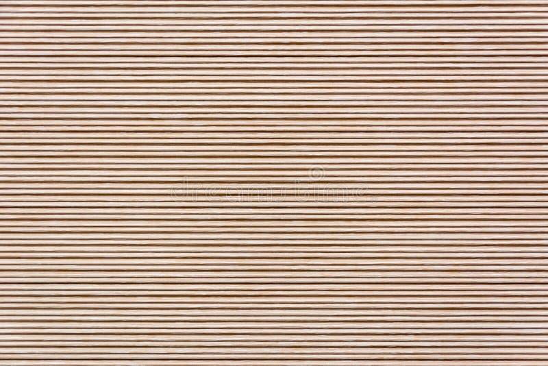 Fundo de madeira natural de bambu do teste padrão da textura imagem de stock