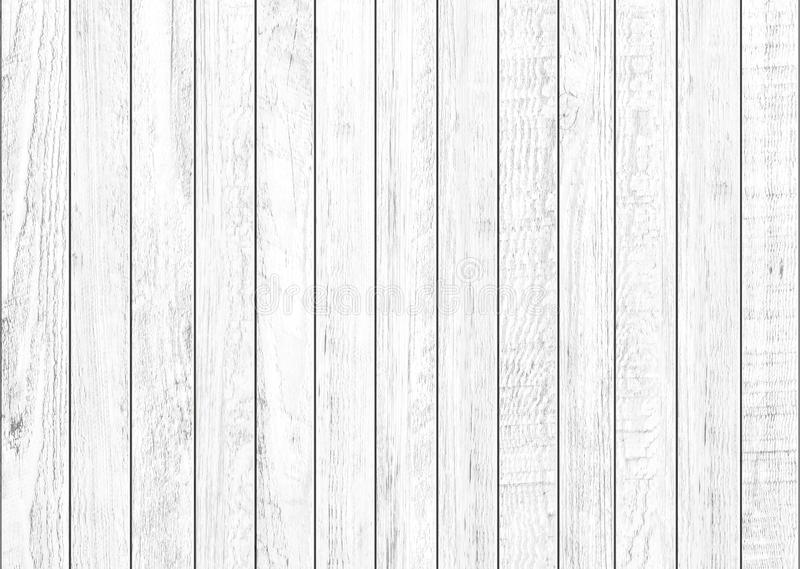 Fundo de madeira natural branco da parede Fundo de madeira do teste padrão e da textura fotos de stock