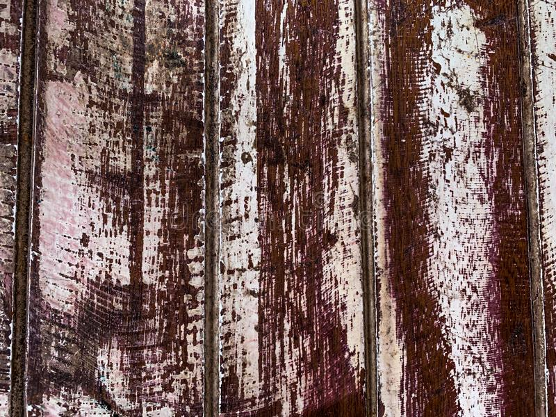 Fundo de madeira pastel da textura das pranchas foto de stock royalty free
