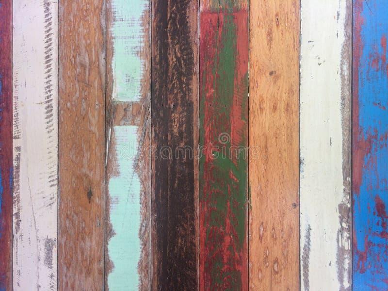 Fundo de madeira pastel da textura do material das pranchas imagem de stock royalty free