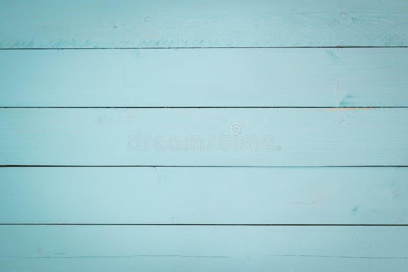 Fundo de madeira pastel do teste padrão do Aqua fotos de stock