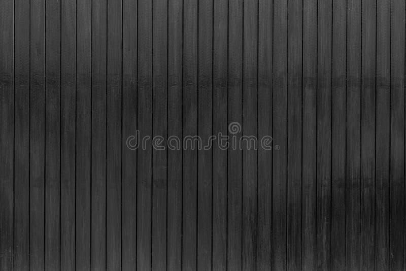 Fundo de madeira preto da textura Fundo de madeira escuro do sumário da prancha Parede de madeira preta vazia Placa de madeira Ma fotografia de stock