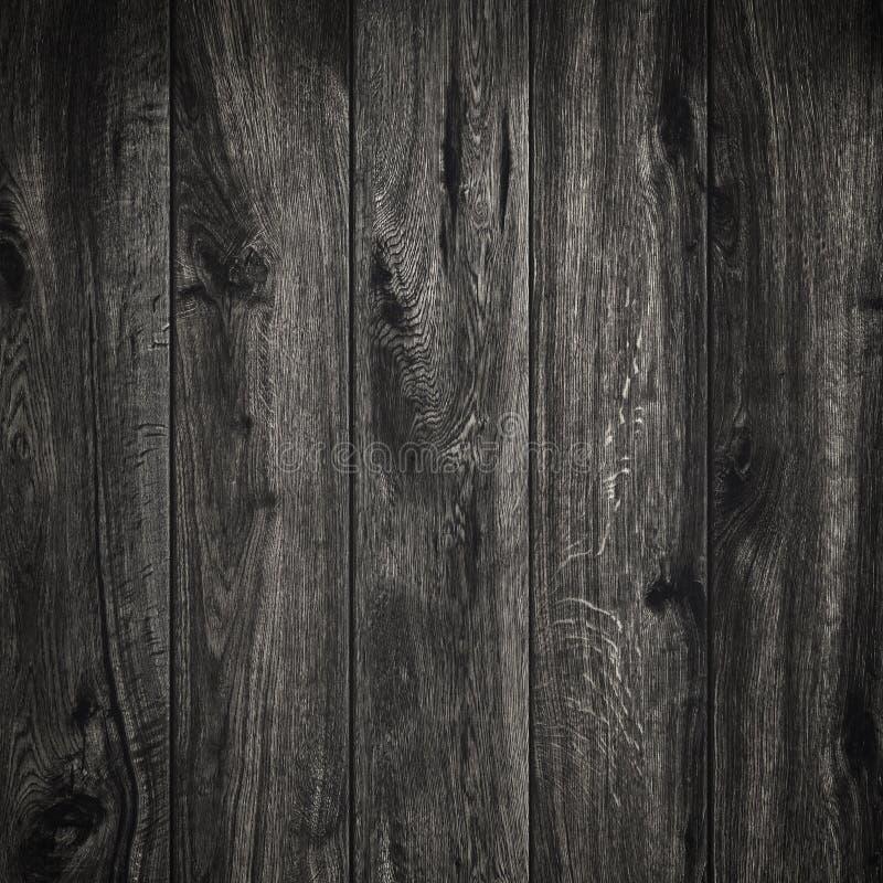 Fundo de madeira preto da textura Textura da placa de madeira Estrutura da prancha natural fotografia de stock royalty free