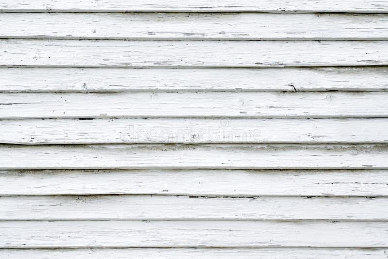 Fundo de madeira rústico branco das pranchas imagem de stock royalty free