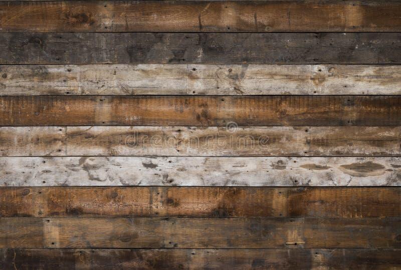 Fundo de madeira recuperado imagens de stock