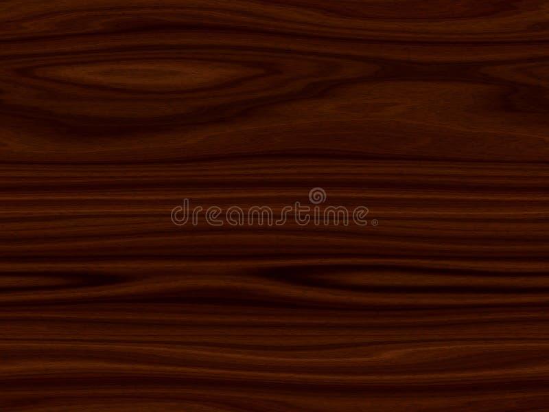 Fundo de madeira sem emenda da textura ilustração royalty free