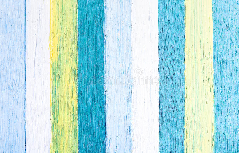 Fundo de madeira - a textura de madeira com cor pastel pintou o painel fotografia de stock royalty free
