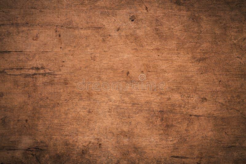 Fundo de madeira, de textura escura, de textura escura antiga, superfície da antiga textura de madeira castanha, madeira de madei foto de stock