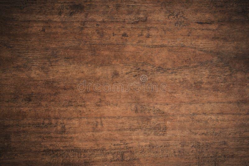 Fundo de madeira textured escuro do grunge velho, a superfície da textura de madeira marrom velha, paneling de madeira da teca do imagens de stock royalty free