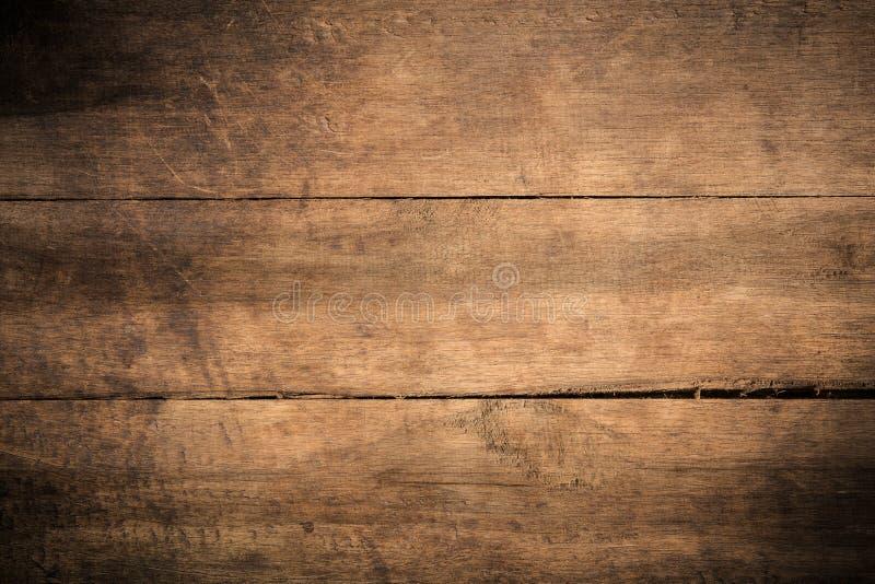 Fundo de madeira textured escuro do grunge velho, a superfície da textura de madeira marrom velha, paneling de madeira do marrom  imagem de stock