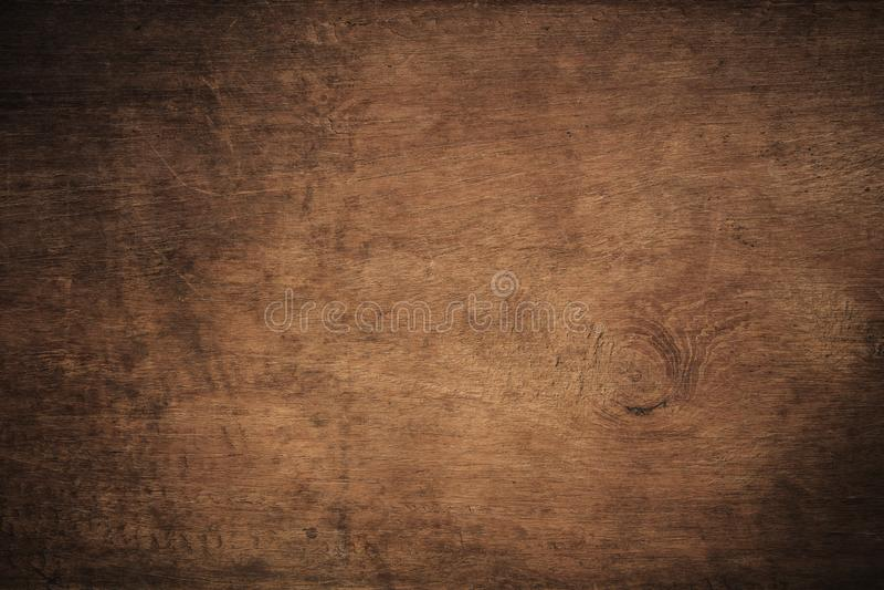 Fundo de madeira textured escuro do grunge velho, a superfície da textura de madeira marrom velha, paneling de madeira do marrom  fotografia de stock royalty free