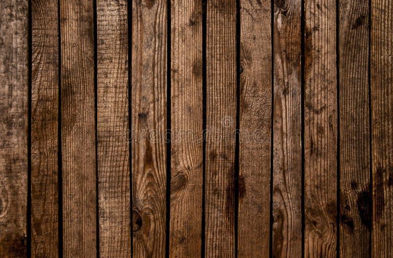 Fundo de madeira textured escuro do grunge velho A superfície do o imagem de stock