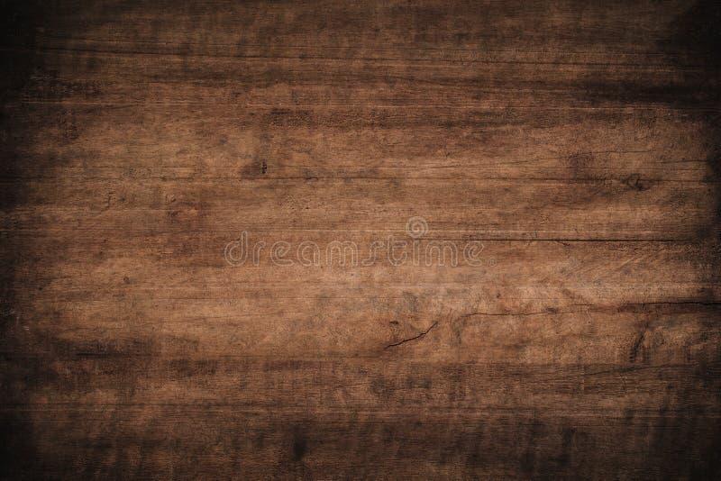 Fundo de madeira textured escuro do grunge velho, a superf?cie da textura de madeira marrom velha, paneling de madeira do marrom  fotografia de stock royalty free