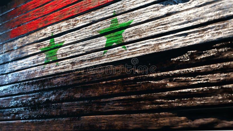 Fundo de madeira velho da textura ilustração stock