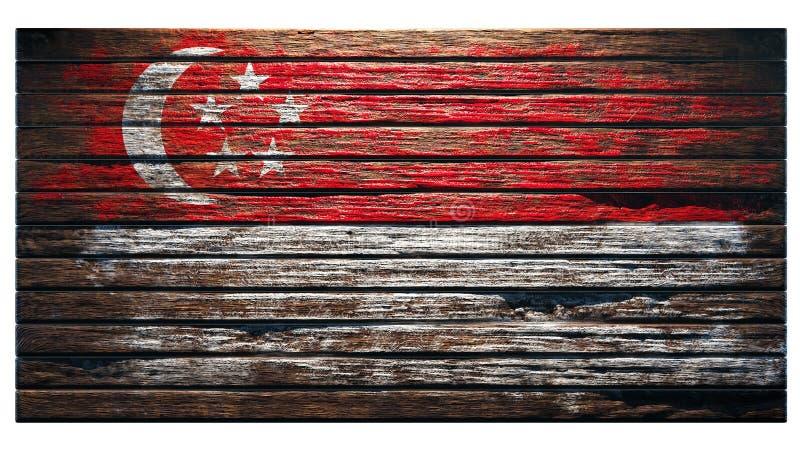 Fundo de madeira velho da textura ilustração royalty free