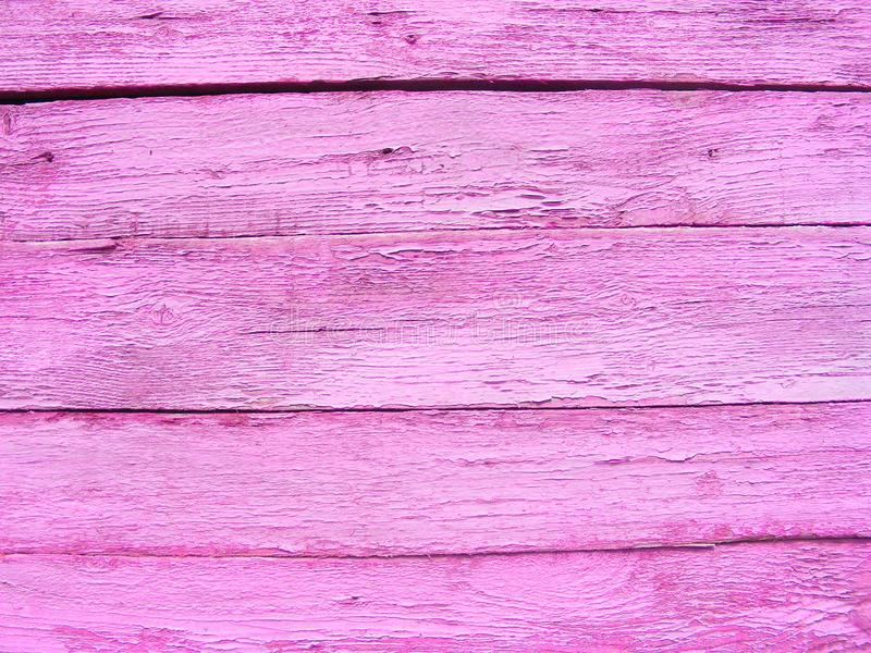 Fundo de madeira velho rústico violeta da alfazema, fundo de madeira roxo do vintage fotografia de stock