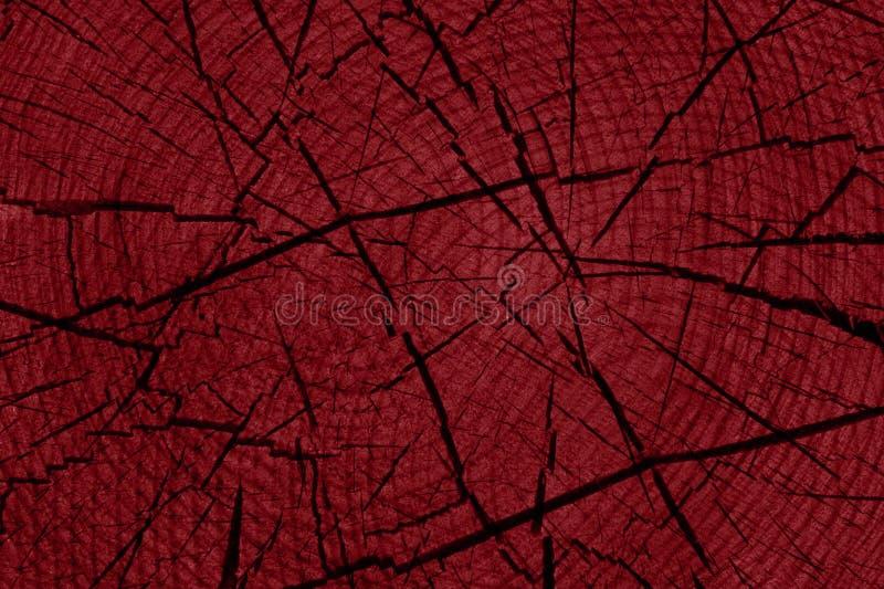 Fundo de madeira vermelho fotografia de stock