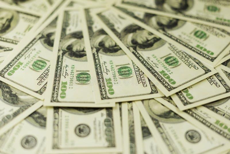 Fundo de muitas cédulas do dinheiro do dinheiro fotografia de stock