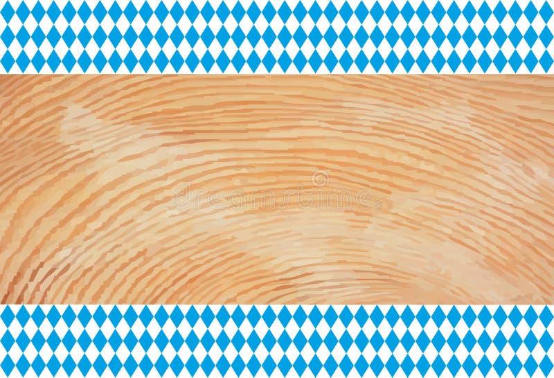 Fundo de munich do bavaria do partido de outubro ilustração do vetor