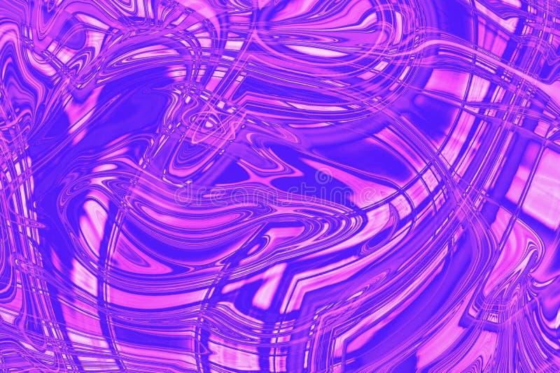 Fundo de n?on cor-de-rosa violeta hologr?fico do n?on do inclina??o wallpaper foto de stock