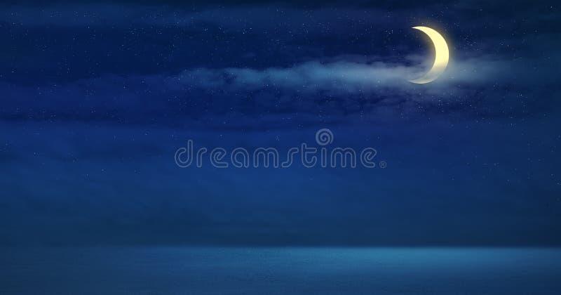 Fundo de Nightscape para o projeto fotos de stock royalty free