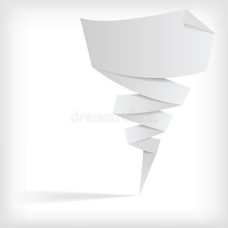 Fundo de Origami ilustração stock