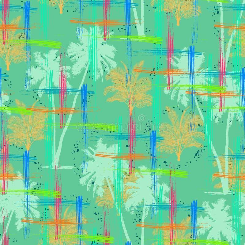 Fundo de Palm Beach ilustração do vetor