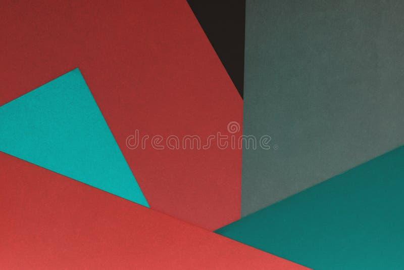Fundo de papel abstrato do ofício da arte foto de stock