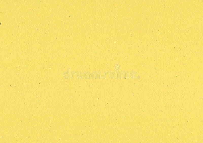 Fundo de papel amarelo imagem de stock royalty free
