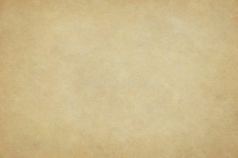 Fundo de papel amarelo velho imagens de stock royalty free