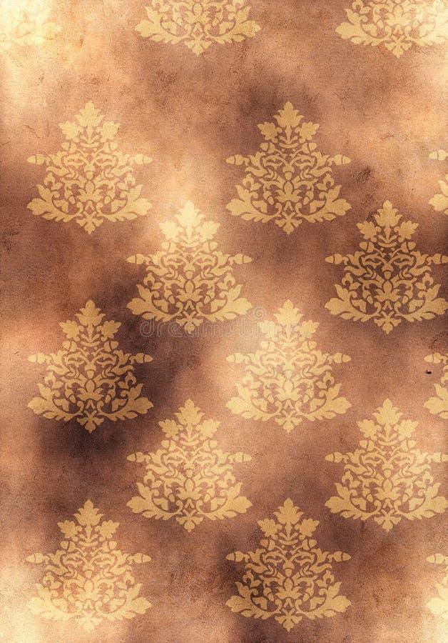 Download Fundo De Papel Amarelo Velho Com Riscos Ilustração Stock - Ilustração de decorativo, sumário: 10056565