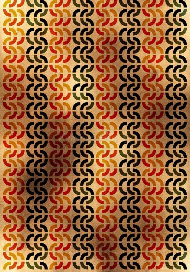 Download Fundo De Papel Amarelo Velho Com Riscos Ilustração Stock - Ilustração de tela, papel: 10056624