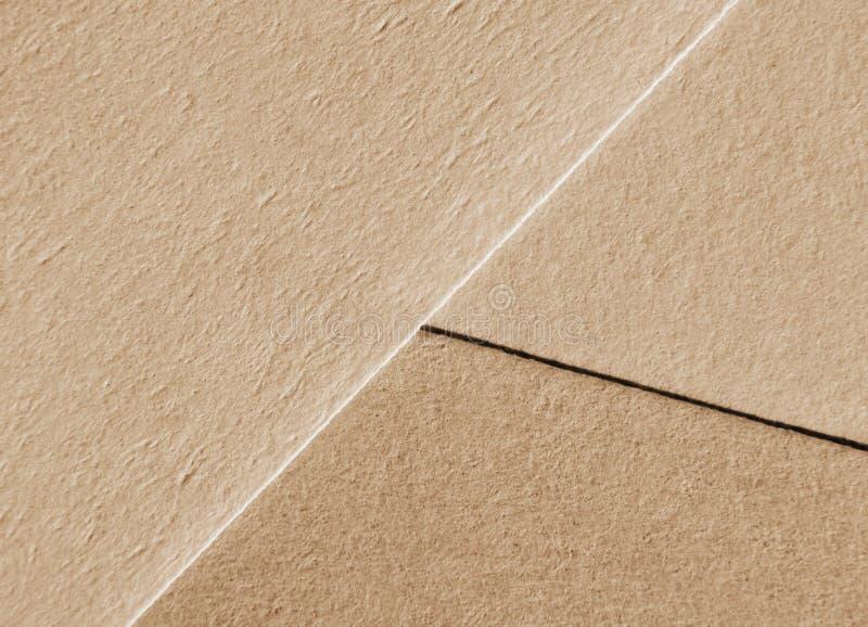 Fundo de papel bege das folhas, textura orgânica imagens de stock royalty free