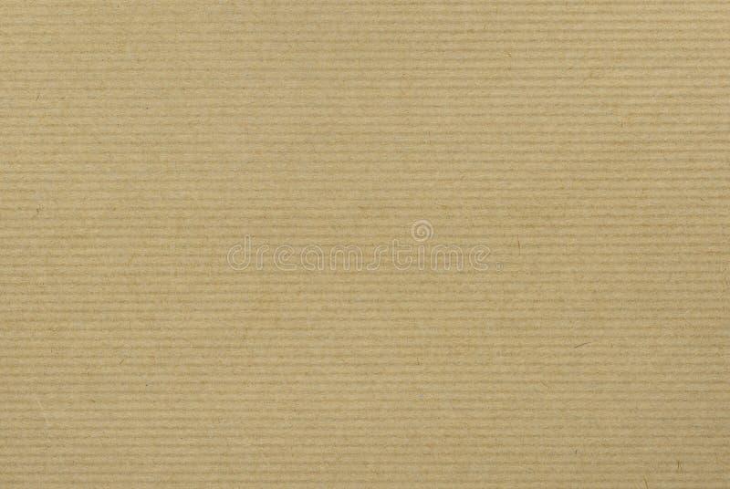 Fundo de papel do ofício com listras horizontais fotografia de stock royalty free