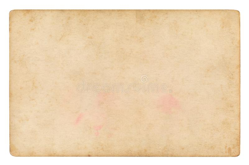 Fundo de papel do vintage isolado fotografia de stock