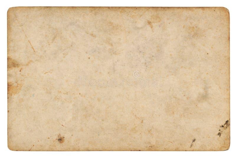 Fundo de papel do vintage isolado foto de stock
